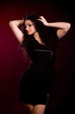 Beautiful young woman in dress Royalty Free Stock Image