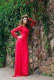 Beautiful Young Woman Dress Stock Photos