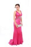 Beautiful young woman in an elegant dress Stock Image