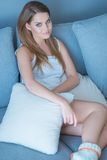 Beautiful young woman enjoying a relaxing day Royalty Free Stock Photography