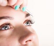 Free Beautiful Young Woman Eyelash Extension. Woman Eye With Long Eyelashes. Beauty Salon Concept Stock Image - 73368671