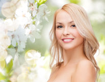 Beautiful young woman face Royalty Free Stock Image