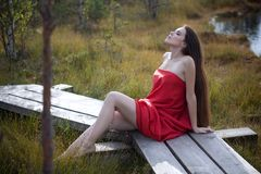 Natural fashion Stock Photography