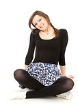 Beautiful young woman, full length Royalty Free Stock Image