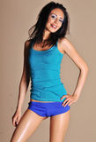 Beautiful young woman with great body Stock Images