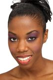 Beautiful Young Woman, Headshot (3) stock photography