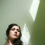 Beautiful young woman headshot, professional Royalty Free Stock Photo