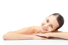 Beautiful young woman with healthy clean skin Royalty Free Stock Photography