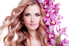 Beautiful young woman with healthy skin. Royalty Free Stock Image