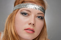 Beautiful young woman hippie Royalty Free Stock Image