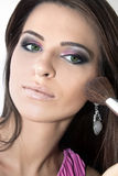 Makeup Application Stock Photos