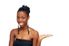 Beautiful Young Woman, Hostess (4) Stock Image