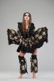 Beautiful young woman in kimono Stock Photo