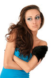 Beautiful young woman looking away Royalty Free Stock Images
