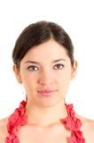 Beautiful young woman looking serious Stock Photos