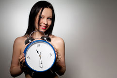Showing the time Stock Photography