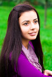 Beautiful young woman outdoor Royalty Free Stock Photo