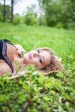Beautiful Young Woman Outdoors. Royalty Free Stock Photos
