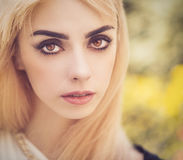 Beautiful young woman. Royalty Free Stock Image