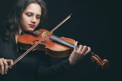 Violinist Royalty Free Stock Photos