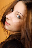 Beautiful young woman portrait Royalty Free Stock Images