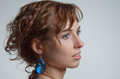Beautiful young woman portrait Stock Photography