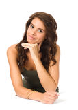 Beautiful Young woman Portrait Royalty Free Stock Photo