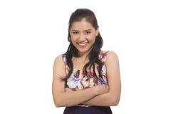 Asian teen girl Stock Photo