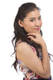 Asian teen girl Royalty Free Stock Photos
