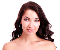 Beautiful young woman portrait Royalty Free Stock Photography