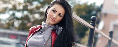 Beautiful young woman Stock Photography