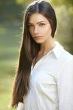 Beautiful young woman portrait Stock Photo