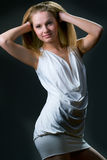 Beautiful young woman posing Stock Photo