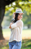 Beautiful young woman posing Royalty Free Stock Photo