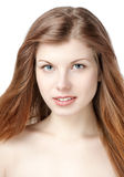 Beautiful young woman smile Stock Photography
