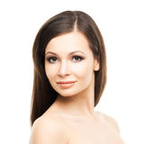 Beautiful young woman with smooth skin Royalty Free Stock Photo