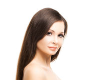 Beautiful young woman with smooth skin Royalty Free Stock Images