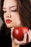 Beautiful young woman studio portrait Stock Image