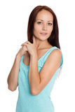 Beautiful young woman of twenty-seven years Royalty Free Stock Images