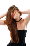 Beautiful young woman with wonderful hair Royalty Free Stock Photo