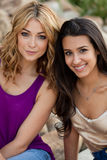 Beautiful young women Royalty Free Stock Photos