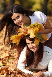 Beautiful young women Royalty Free Stock Photo