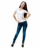 Beautiful young women Stock Images