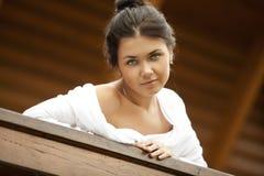 A  beautiful young women Stock Photos