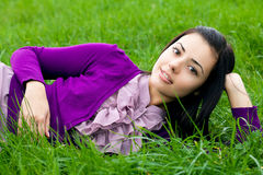 Beautiful young women in nature Royalty Free Stock Photos