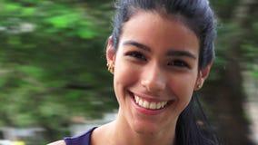 Beautiful Youthful Colombian Girl. Beautiful young teen hispanic girl Stock Images