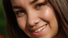 Beautiful Youthful Teenage Female. A young teen hispanic girl Stock Photos