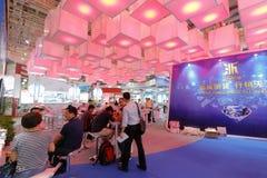 Beautiful zhejiang province pavilion Stock Photography