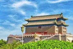 Beautiful Zhengyangmen Gate (Qianmen Gate ). This famous gate is Royalty Free Stock Photo