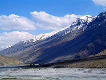 beautifull北部印度的山 库存图片